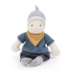 Moulin Roty - Blød babydukke, dreng, 32 cm (710528)