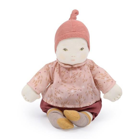 Moulin Roty - Blød babydukke, pige, 32 cm (710527)