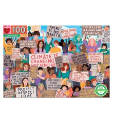 eeBoo - Puslespil - Klima demonstartion, 100 brikker (EPZTNYL)