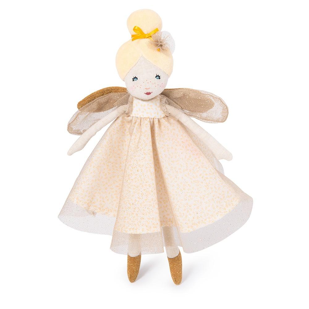 Moulin Roty - Little golden fairy doll (711237)