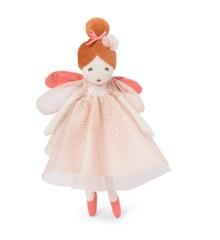 Moulin Roty - Fransk dukke - Lille lyserød fe (711219)