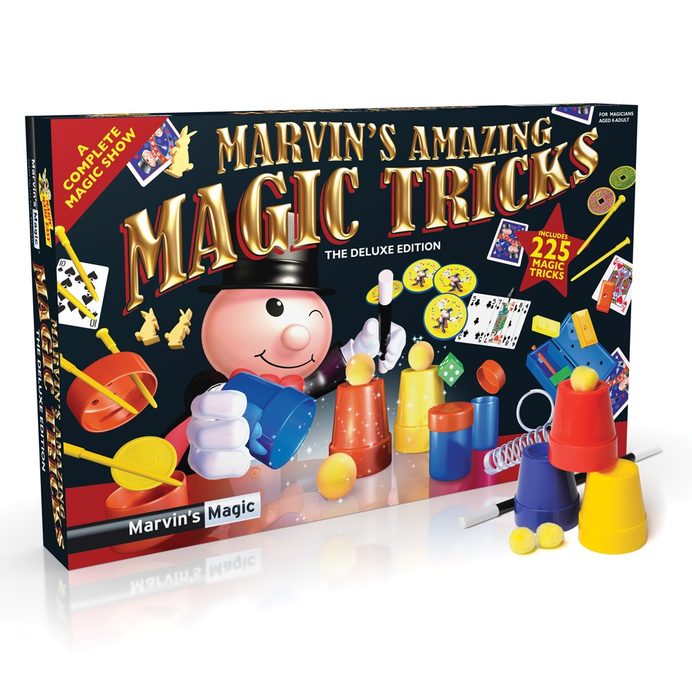 Marvins Magic Med 225 Trylletricks Fra
