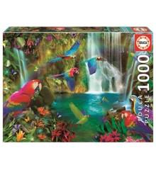 Educa - Puslespil 1000 Brikker - Tropiske papegøjer (018457)