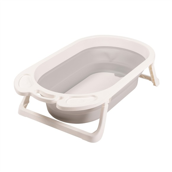 Babytrold - Foldable Bath - White and Grey