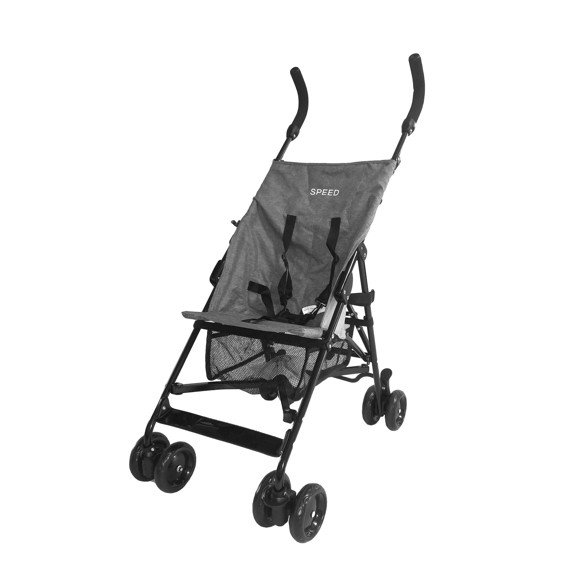 Babytrold - Speed Pushchair - Grey Melange