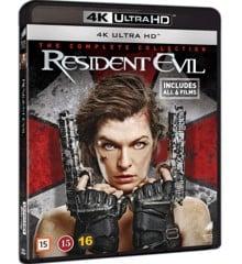 Resident evil 1-6 complete 4K UHD