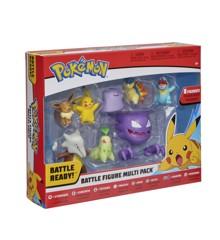 Pokemon - Battle Figur 8 pakke