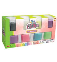 JDE - Glitter Dough 8 pack  (506098)