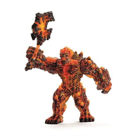 Schleich - Lava golem with weapon (42447)