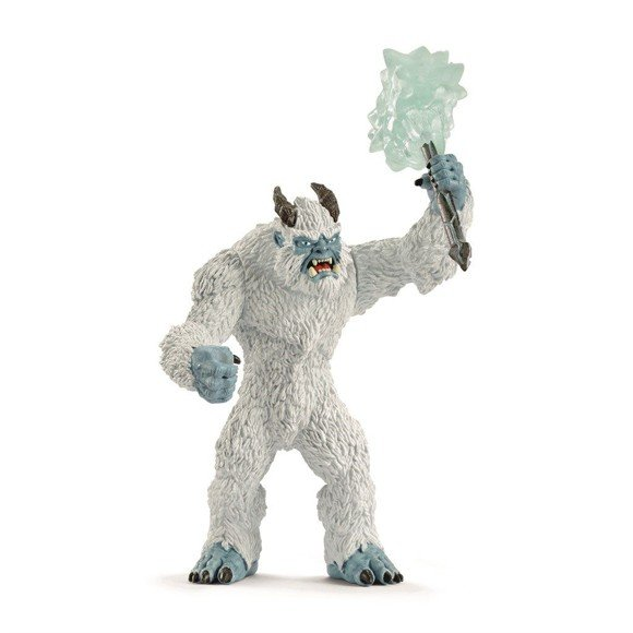 Schleich - Ice monster with weapon (42448)