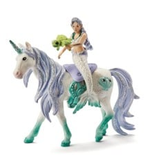 Schleich - Mermaid riding on sea unicorn (42509)