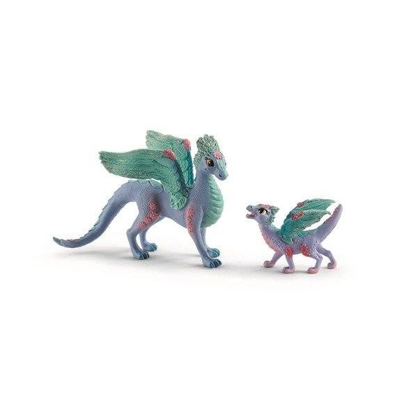 Schleich - Flower Dragon and Baby (70592)