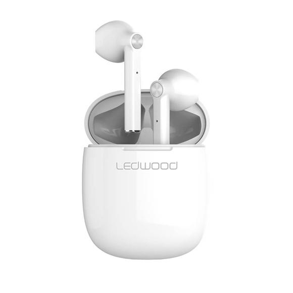 Ledwood - T16 TWS Wireless Earphones - White