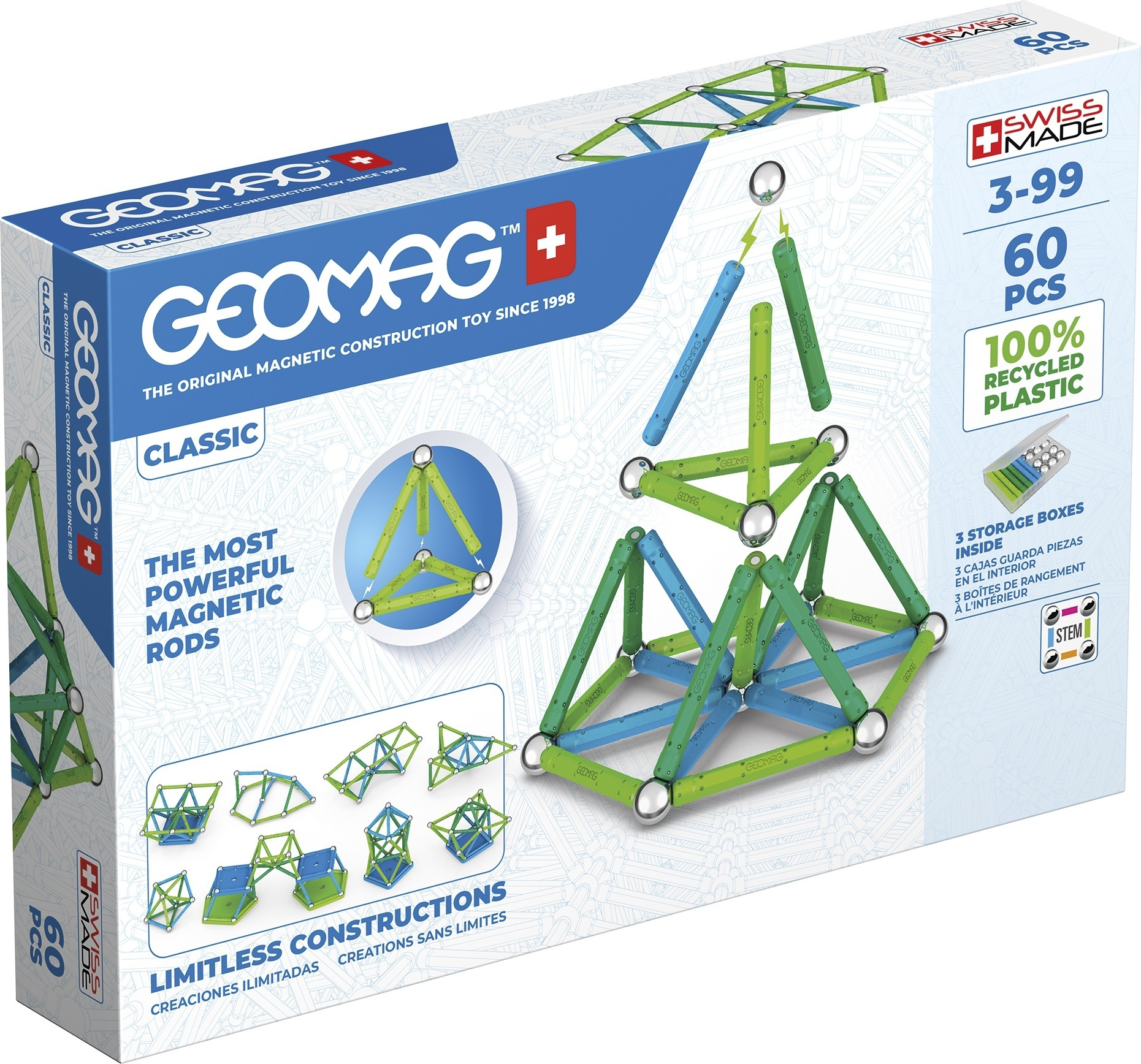 Geomag - Classic Green Line 60 (272)