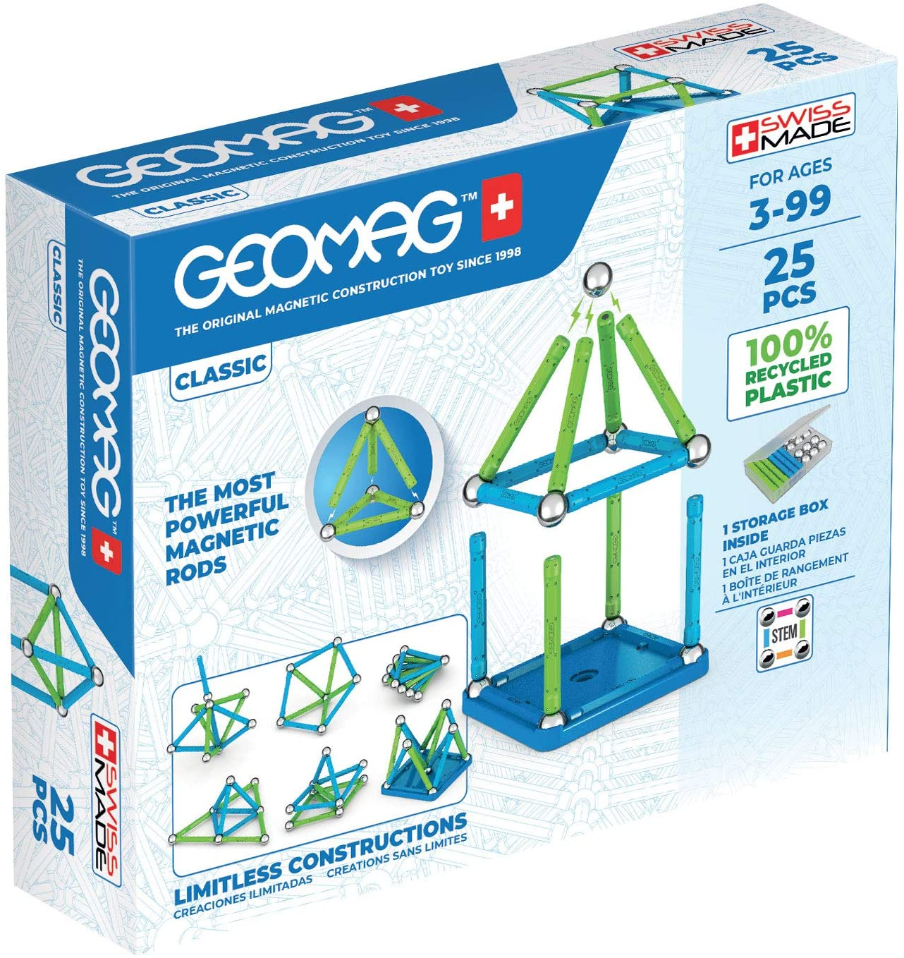 Geomag - Classic Green Line 25 (275)