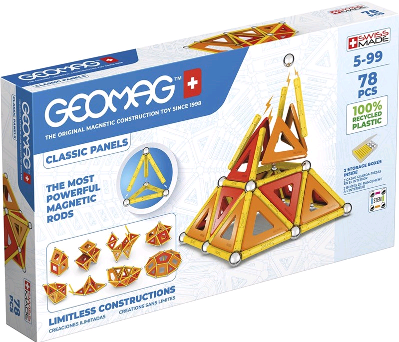 Geomag - Classic Panels Green Line 78 (472)