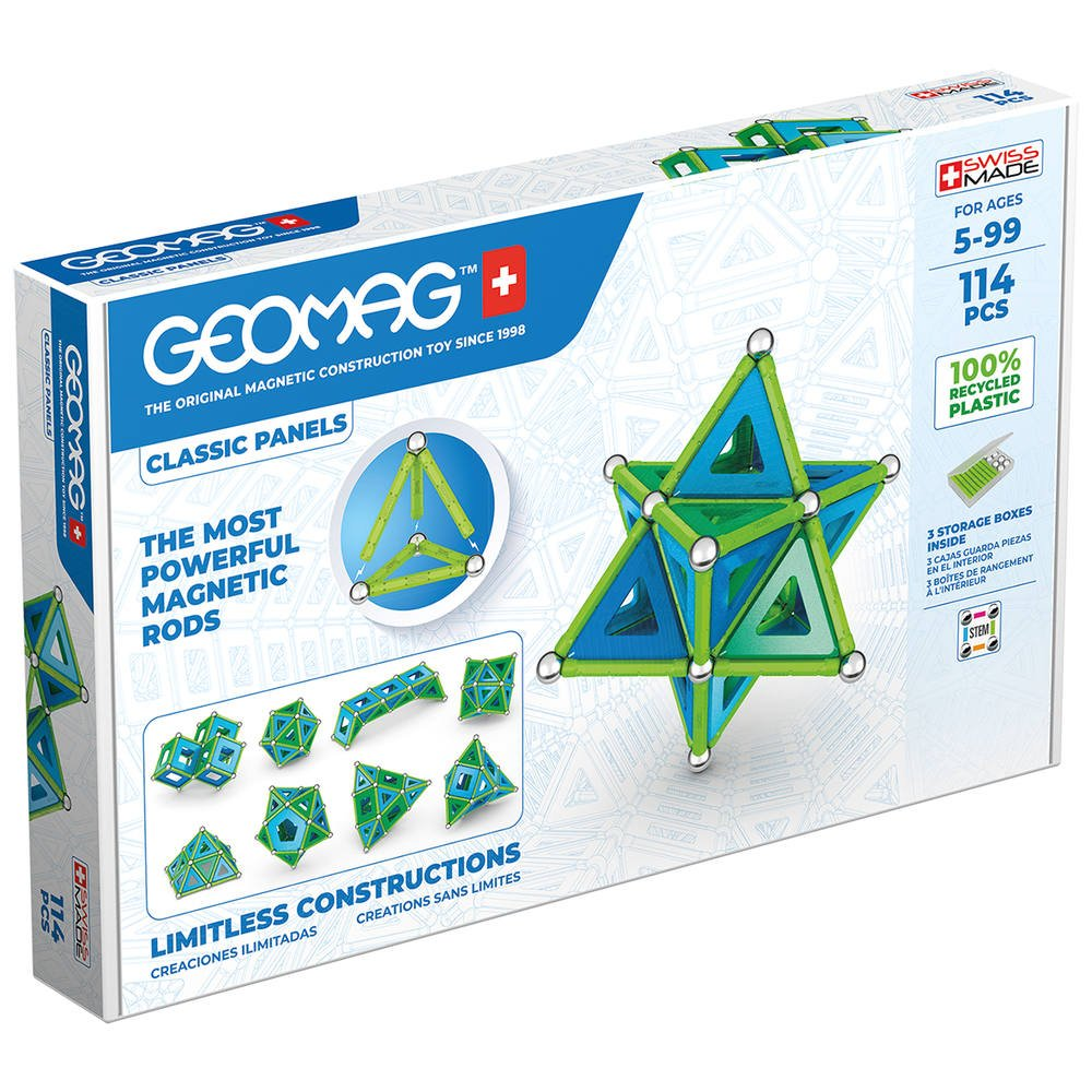 Geomag - Classic Panels Green Line 114 (473)