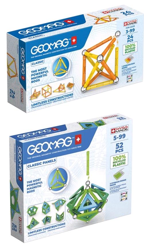 Geomag - Bundle Classic Panels Green (823)
