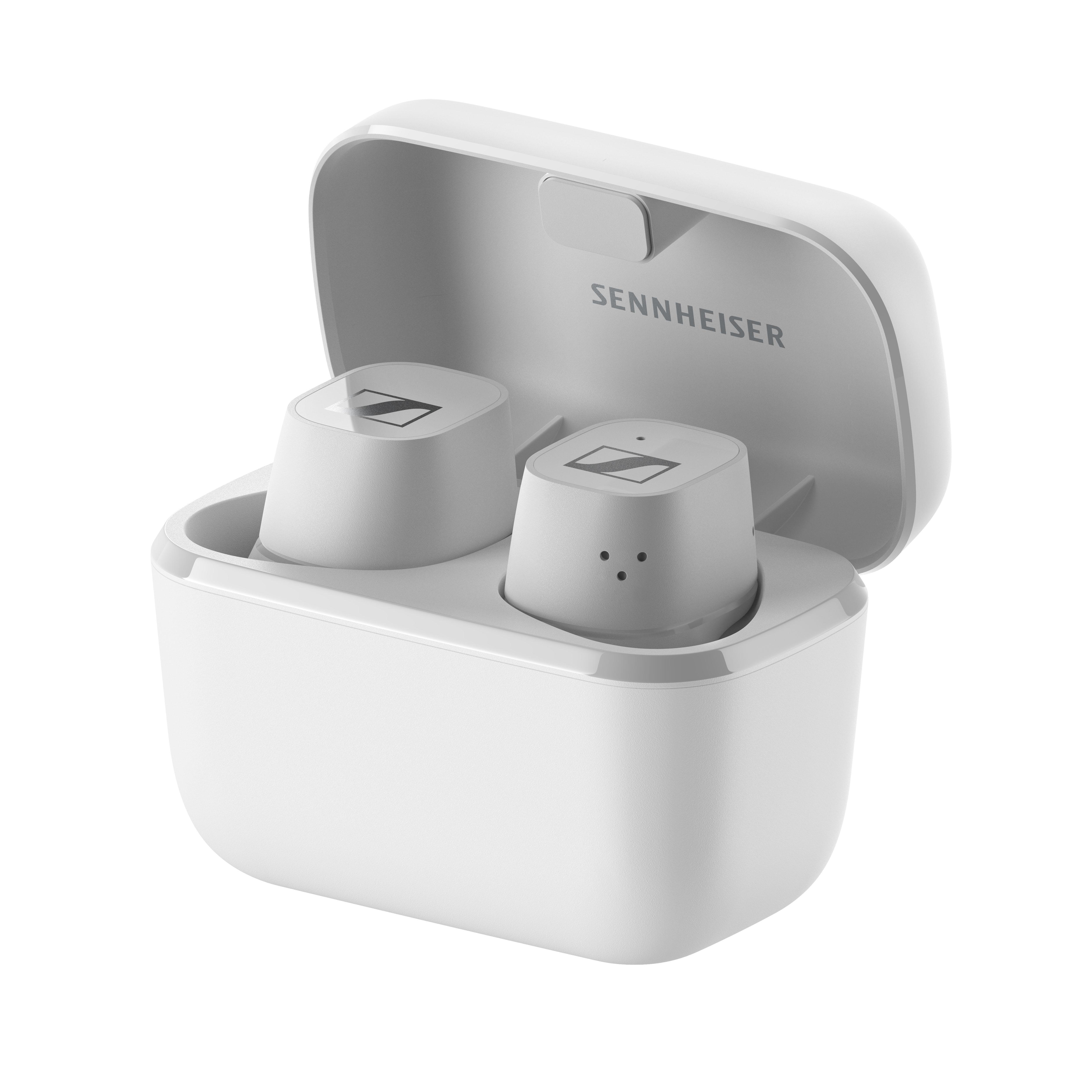 Sennheiser - CX 400 Wireless Earphones With Bluetooth - White