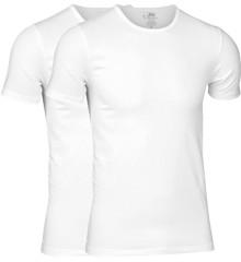 JBS - 2-pack O-Neck Bambus T-Shirt White
