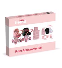 Happy Friend - Pram Accessories Set (504391)