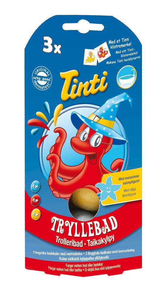 Tinti - Magic Bath Fizzer 3 pack (370100)