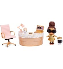 L.O.L. Surprise - Furniture with Doll Wave 2 - Boss Queen