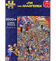 Jan Van Haasteren - Rock around the Clock - 1000 Piece Puzzle (81453I)