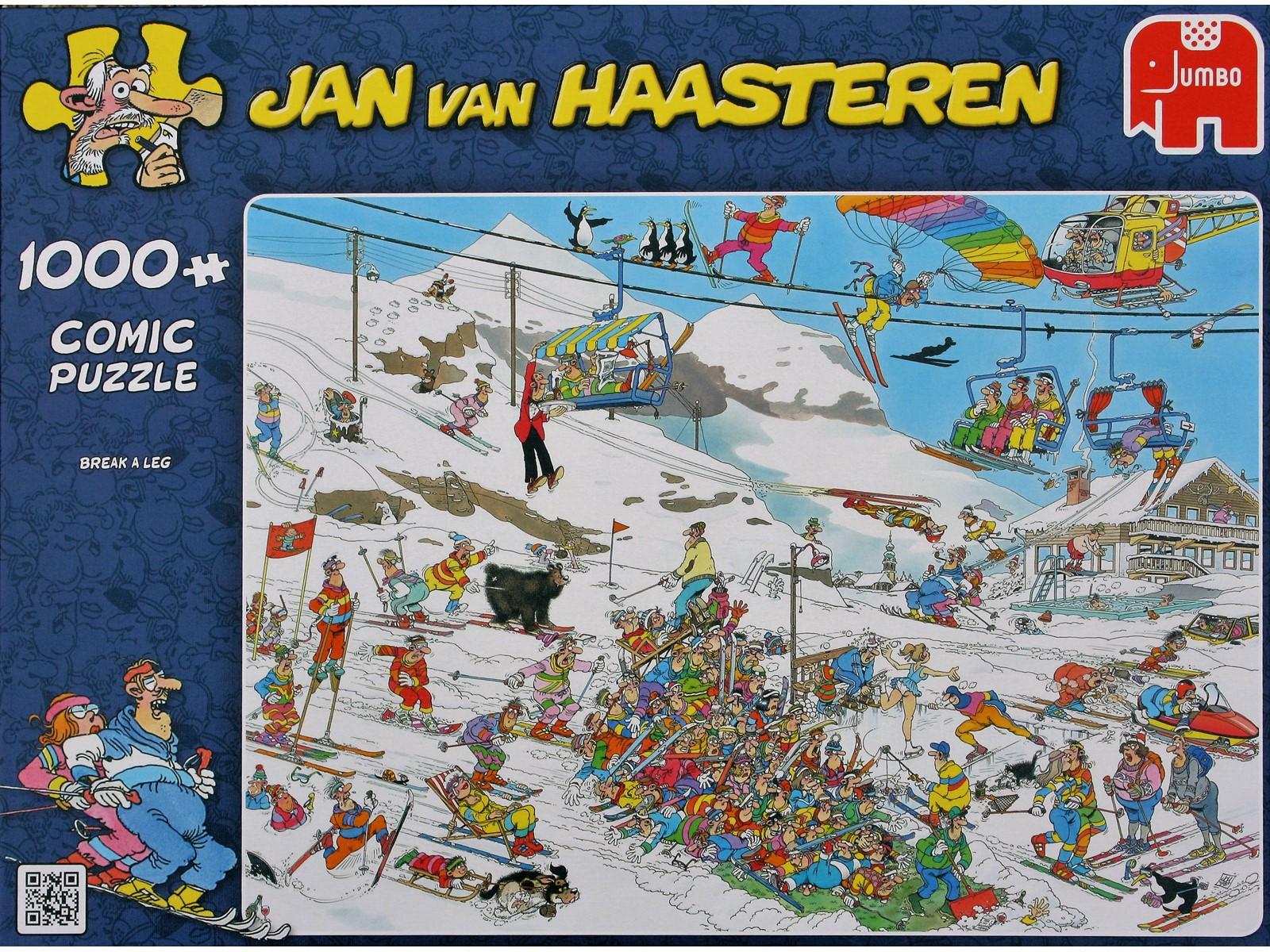 Jan Van Haasteren - Break a leg - 1000 Piece Puzzle (81453C)