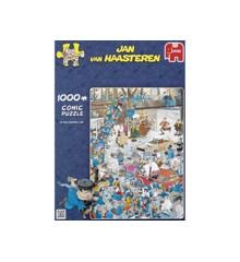 Jan Van Haasteren - On the assembly line - Puslespil 1000 brikker (81453F)