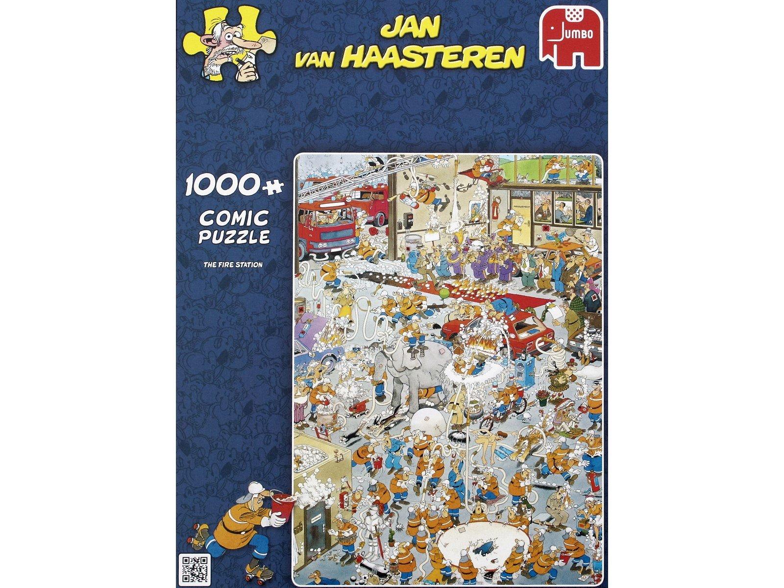 Jan Van Haasteren - The Fire Station - 1000 Piece Puzzle (81453H)
