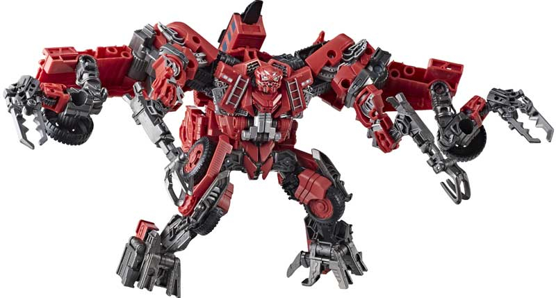 Transformers Constructicon Overload Leader Class Studio
