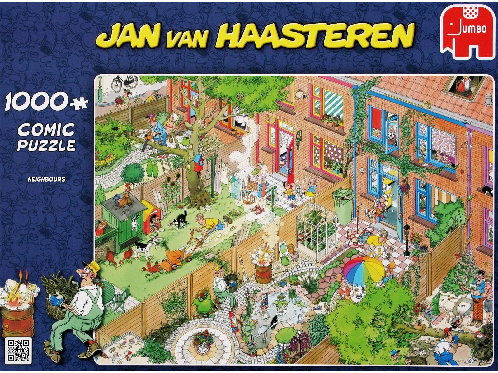 Jan Van Haasteren - Neighbours - 1000 Piece Puzzle (81453E)