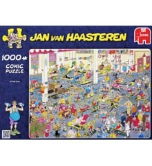 Jan van Haasteren - At the Gym - 1000 Piece Puzzle (81453K)
