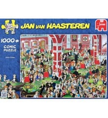 Jan Van Haasteren - Crazy Casino - 1000 Piece Puzzle (81453B)