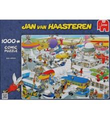 Jan Van Haasteren - Busy Airport - 1000 Piece Puzzle (81453J)