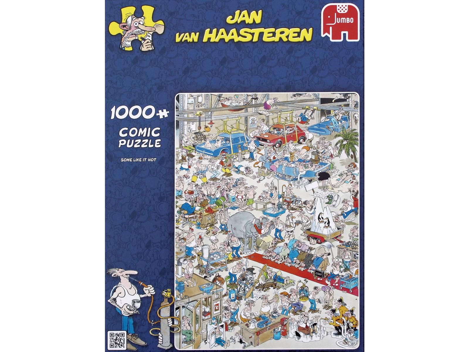 Jan Van Haasteren - Some like it hot - 1000 Piece Puzzle (81453A)