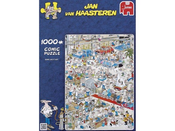 Jan Van Haasteren - Some like it hot - Puslespil 1000 brikker (81453A)