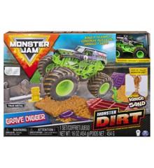 Monster Jam  - Grave Digger Monster Dirt Sæt