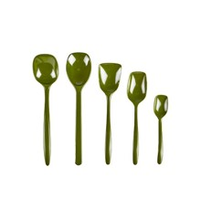 Rosti - Spoon Set of 5 - Oliven (11658)