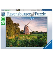 Ravensburger - Puzzle 1500 - Windmill on the Baltic Sea (10216223)