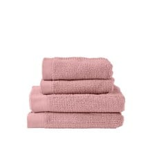 Zone - Classic Håndklæde Sæt - Rosa