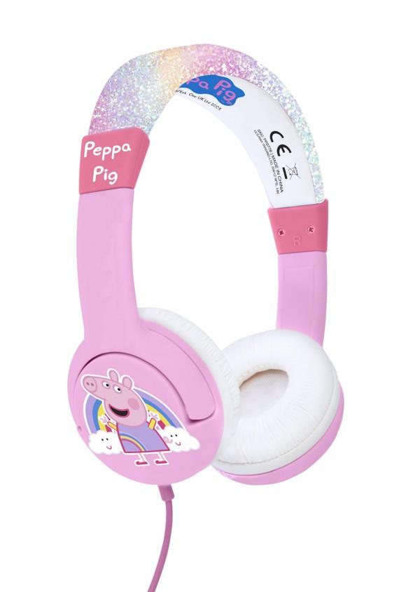OTL - Junior Headphones - Rainbow Peppa Pig  (856537)