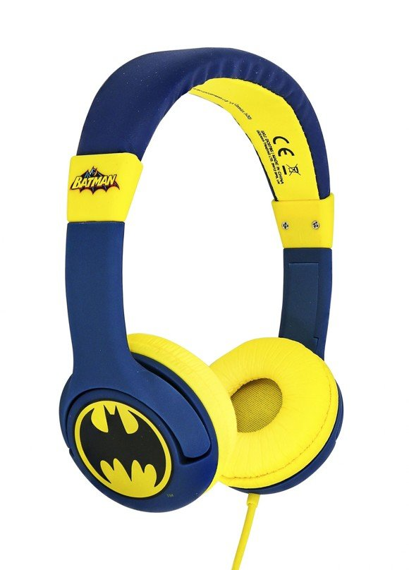OTL - Kids Headphones - Batman Bat Signal (856539)