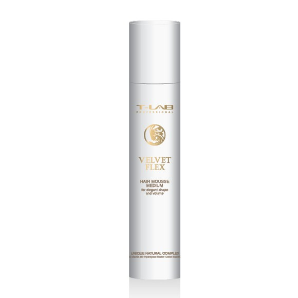 T-Lab Professional - Velvet Flex Mousse Medium 300 ml