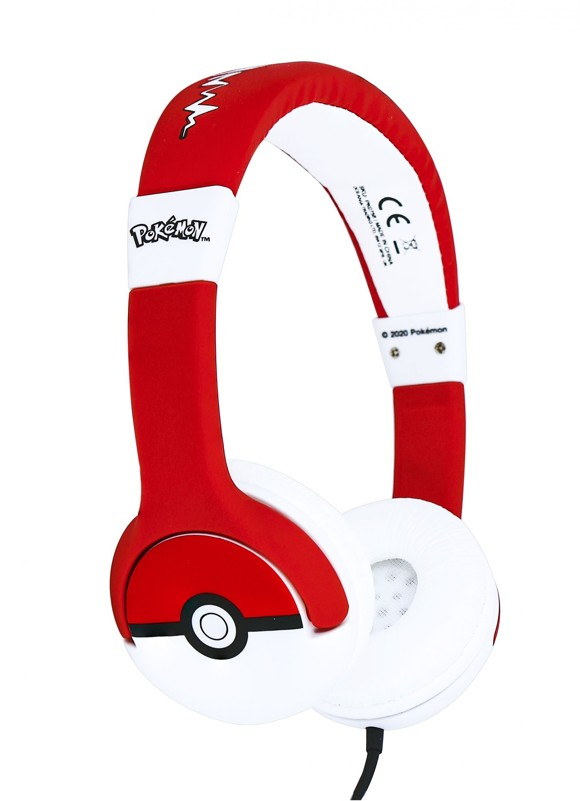 OTL - Kids Headphones - Pokemon Pokeball (856542)