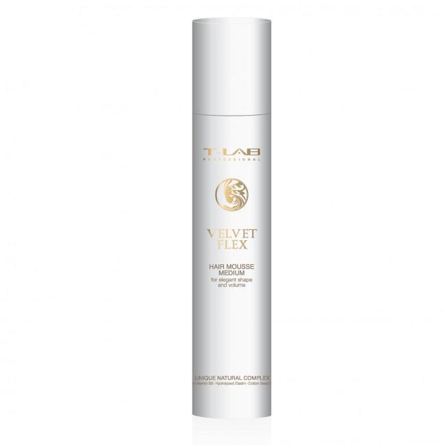 T-Lab Professional - Velvet Flex Hair Mousse Medium 100 ml