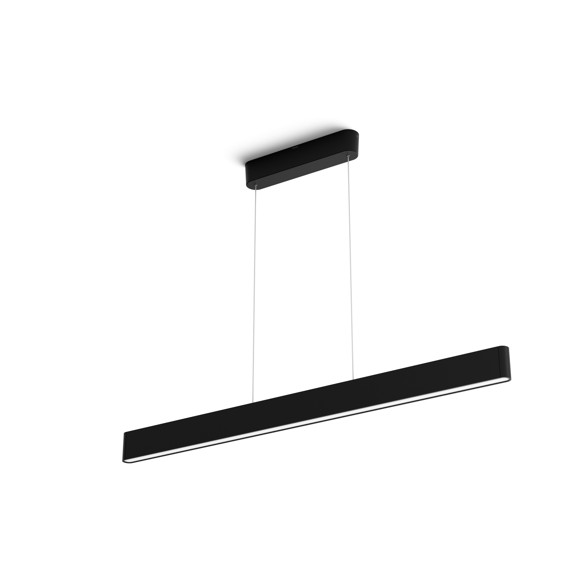 Philips Hue -  Ensis Pendant Black - White & Color Ambiance - Bluetooth - E