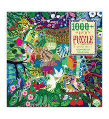 eeBoo - Puslespil - Bountiful Garden, 1000 brikker (EPZTBGN)