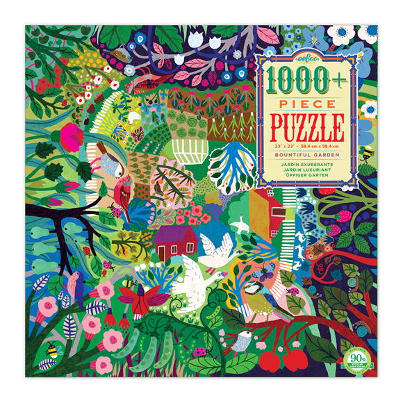 eeBoo - Puzzle - Bountiful Garden, 1000 pc (PZTBGN)